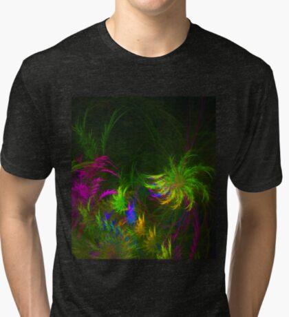 Jungle #fractal art 2 Tri-blend T-Shirt