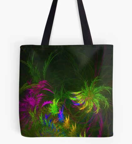 Jungle #fractal art 2 Tote Bag
