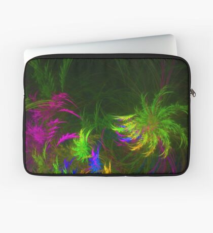 Jungle #fractal art 2 Laptop Sleeve