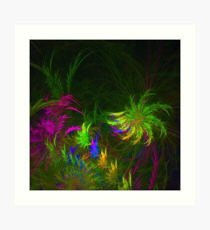 Jungle #fractal art 2 Art Print