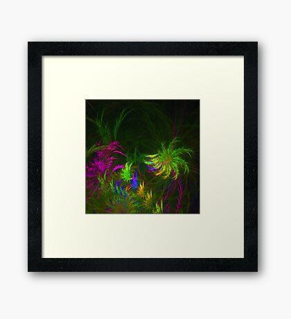Jungle #fractal art 2 Framed Print
