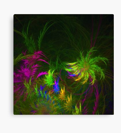 Jungle #fractal art 2 Canvas Print