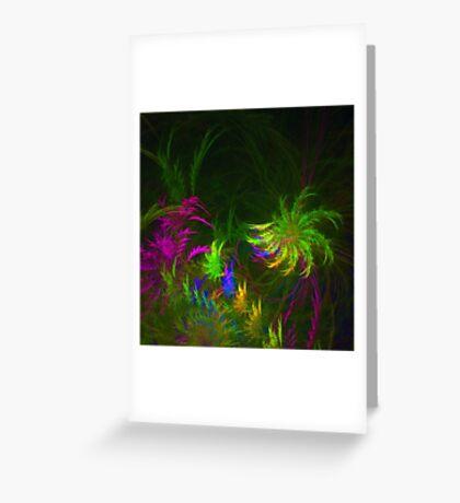 Jungle #fractal art 2 Greeting Card