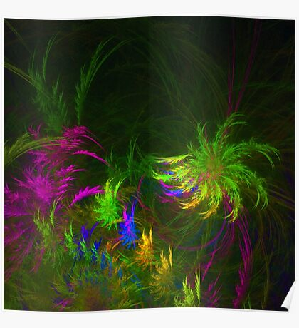 Jungle #fractal art 2 Poster