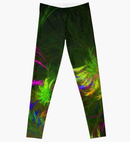 Jungle #fractal art 2 Leggings