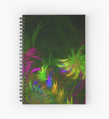 Jungle #fractal art 2 Spiral Notebook