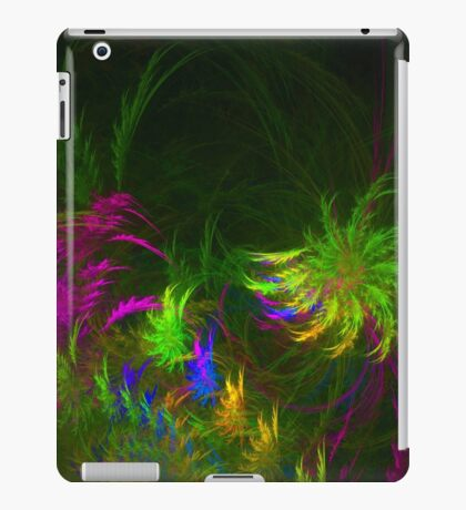 Jungle #fractal art 2 iPad Case/Skin