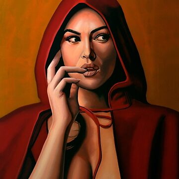 Monica Bellucci Painting by PaulMeijering