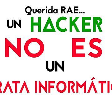 A hacker is not a hacker by Beelthazad