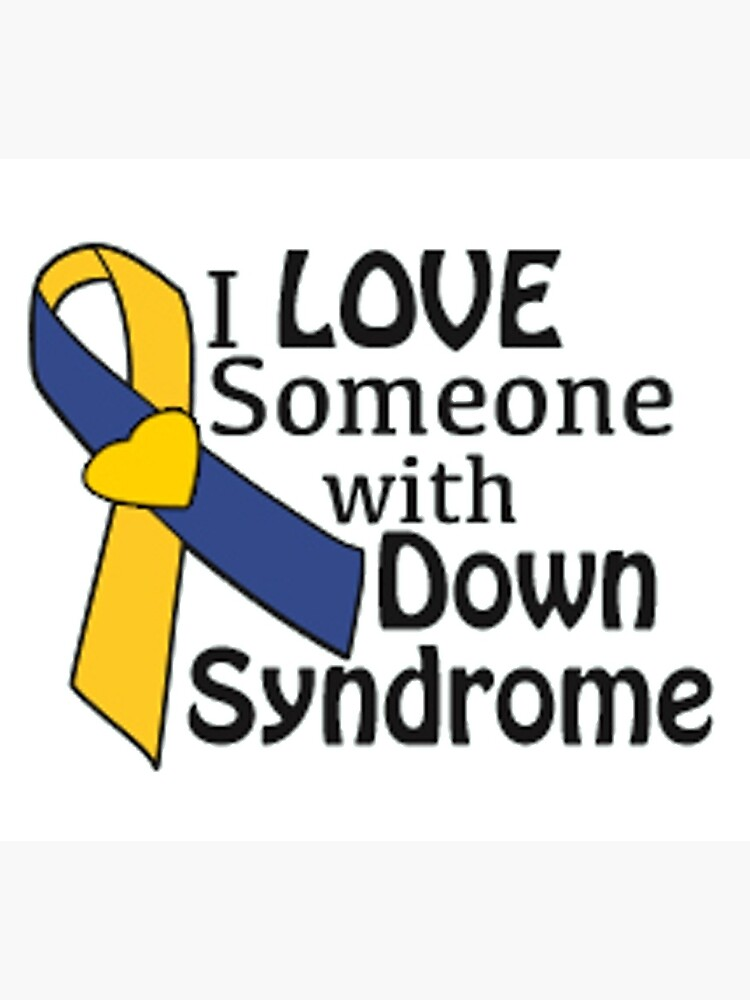 Down Syndrome Awareness Ribbon Photographic Print By Trws Redbubble