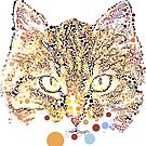 Kitty in Dots by Anthony Ross