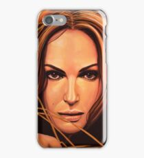Natalie Portman Painting iPhone Case/Skin