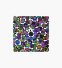 Cluttered Circles III Art Board