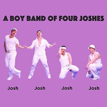 A Boy Band of Four Joshes by alidamiranda