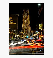 Canal Park Night Photographic Print