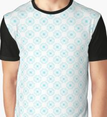 Mandala : Blue Bliss Graphic T-Shirt