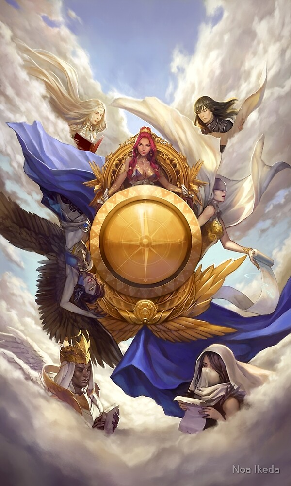 Wheel of Fortune by Noa Ikeda