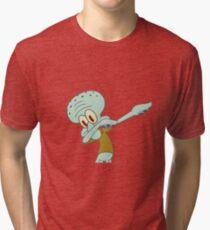 Squidward Dab'en on em Tri-blend T-Shirt