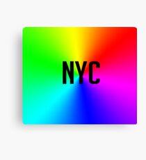 rainbow nyc Canvas Print