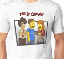 The IT Crowd - Simpsons Style! Unisex T-Shirt