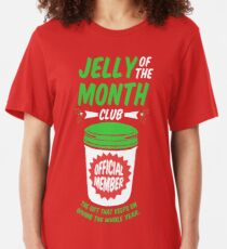 Jelly Of The Month Club Official Member Slim Fit T-Shirt