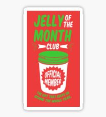 Jelly Of The Month Club Official Member Sticker