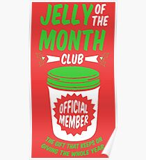 jelly of the month club official member poster