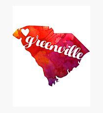Greenville Photographic Print