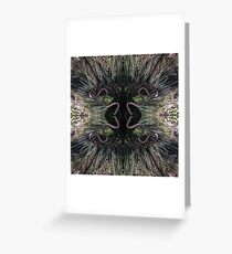Blue Mountains Grass Tree 2 Greeting Card