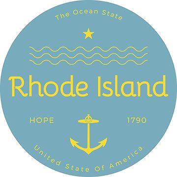 Rhode Island Badge Design by Chocodole