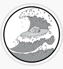 Brain Waves Sticker