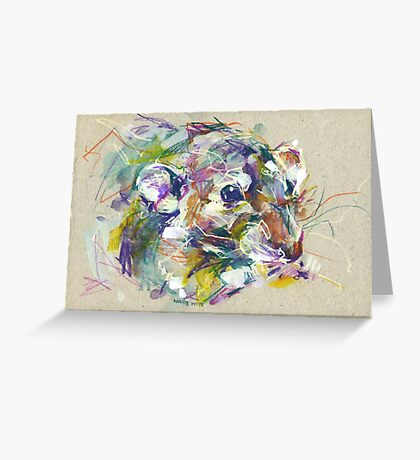 Vénielle the rat II Greeting Card