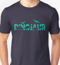 Dinosaur aqua T-Shirt
