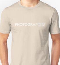 Photographer T-Shirt Unisex T-Shirt