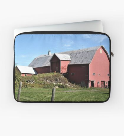 Red Barn Laptop Sleeve