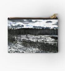 Landscape Snow Studio Pouch