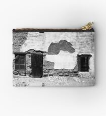 Weathered Tucson House Studio Pouch