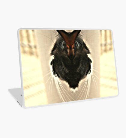 One Head Cat  Laptop Skin