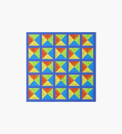 #DeepDream color factures #Art Art Board Print