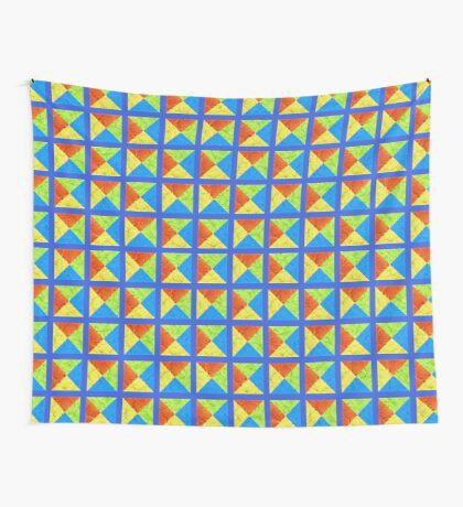 #DeepDream color factures #Art Wall Tapestry