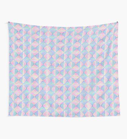 #DeepDream factures #art Wall Tapestry