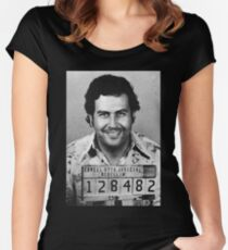 Pablo Escobar Fitted Scoop T-Shirt