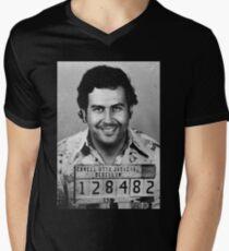 Pablo Escobar Men's V-Neck T-Shirt