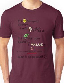 Your opinion- Cartoony Unisex T-Shirt