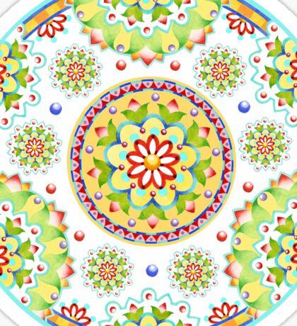 Kristofer's Mandala Sticker