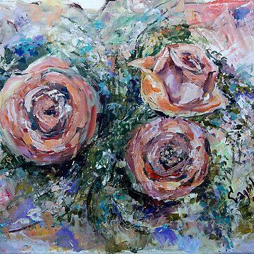 Roses by Sadykova