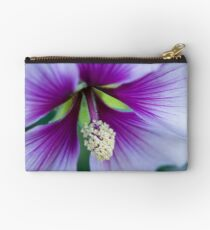 Purple Effusion Zipper Pouch