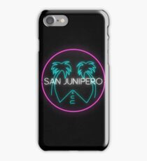 San Junipero Logo iPhone Case/Skin