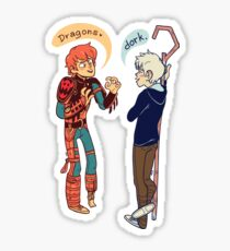 Hiccup Jack Frost Dorks Sticker