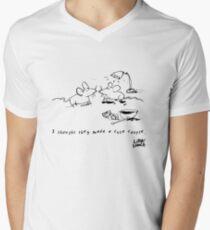 Little Lunch: The Relationship Men's V-Neck T-Shirt